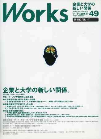 2001年12月10日 Works(RECRUIT)